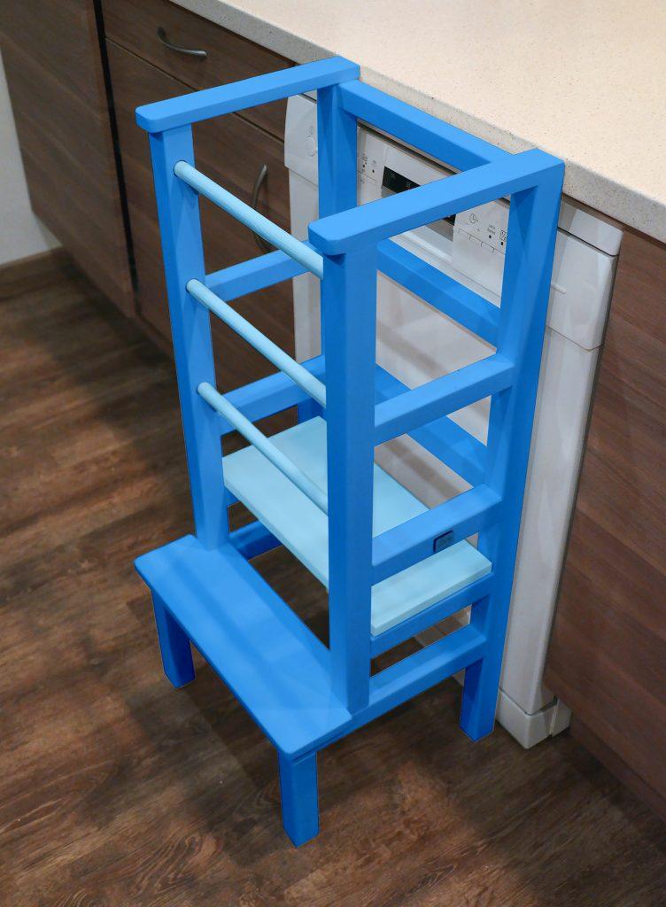 Baby blue Tukataka Learning tower