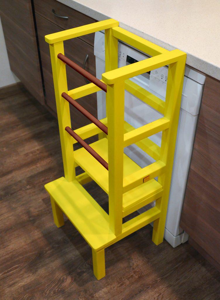 Yellow Tukataka Learning tower